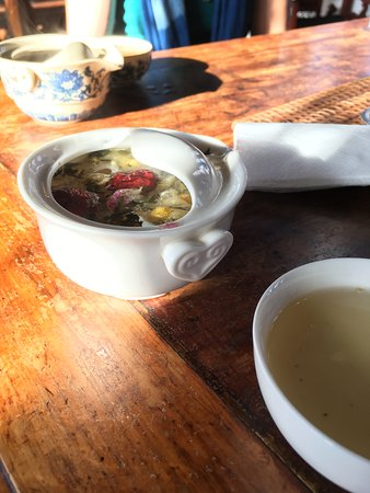 Portland Meditative Garden Tour: Japanese and Chinese Gardens: Eight Treasures tea bathed in sunlight and camaraderie