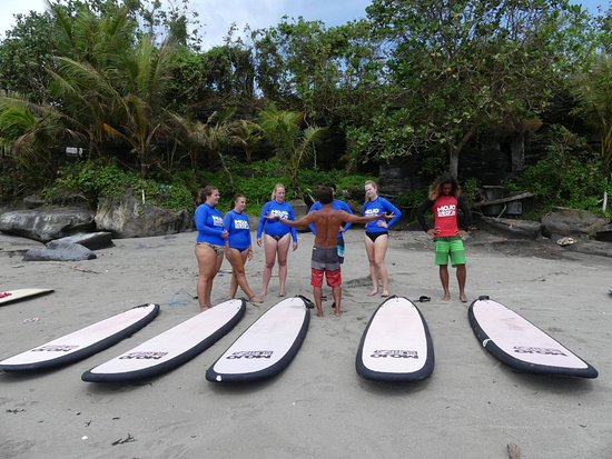 Stunning locations for surf lessons