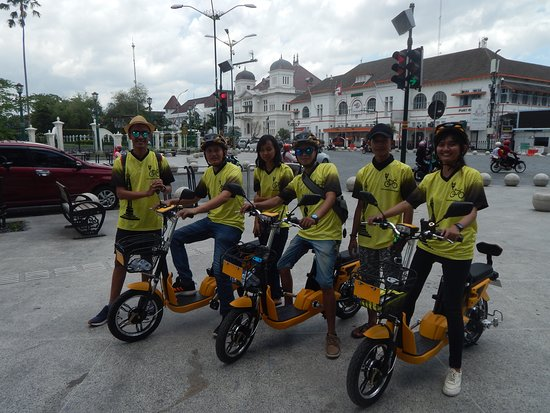 Have a nice day on our E Bike our team is ready to join YOU