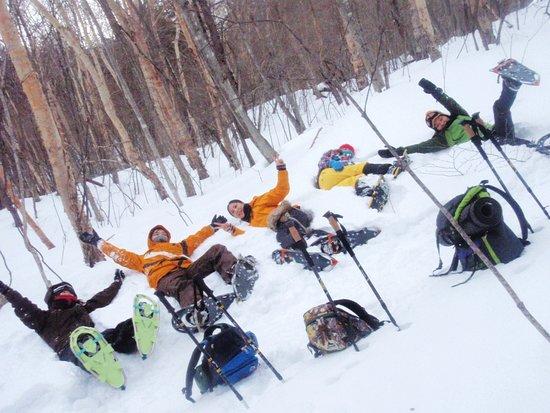 Outdoor Earth: 雪にねころんで雪と戯れよう!