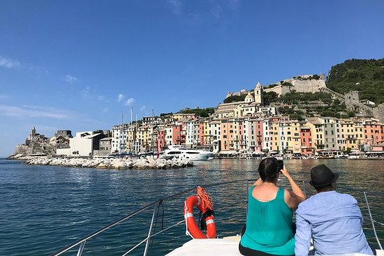 Cinque Terre Boat Tour with Wine and...