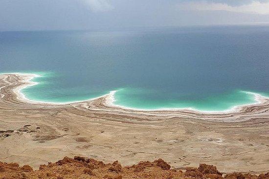 Masada e il Mar Morto da Gerusalemme