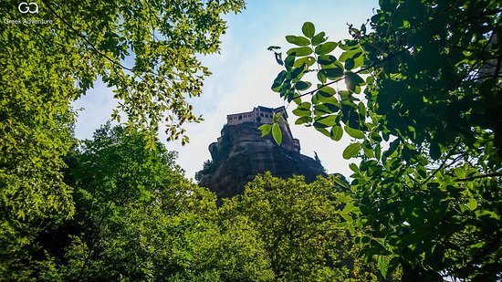 """Visit Meteora, all year round, with Greek Adventure. Walk to the """"holy"""" paths, visit the monasteries, explore their unknown and wonderful nature!"""