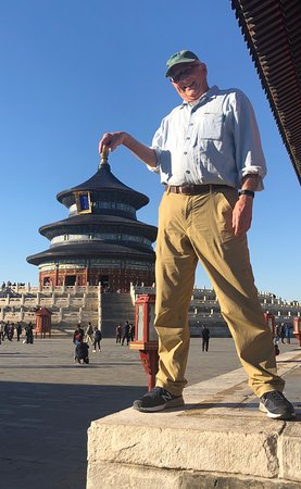 Beijing, China: Having fun with the Temple of Heaven!