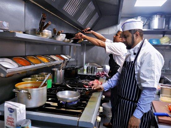 The Rajdoot Hampstead Kitchen