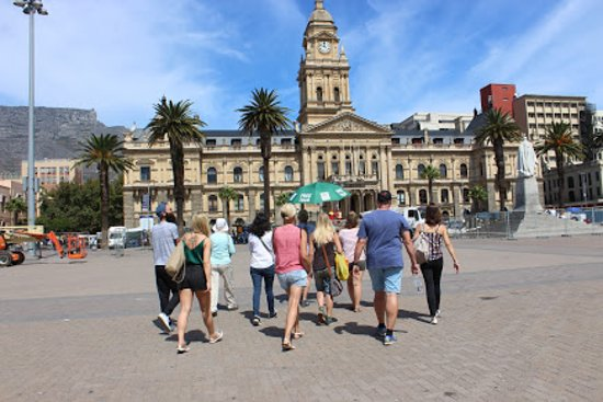 Walking across the oldest parade in Cape Town