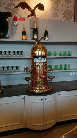 First Hotel Statt: Imponerande kaffemaskin
