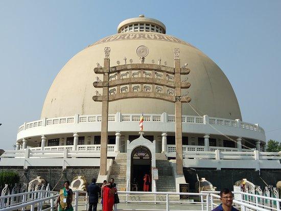 Close view of Deeksha Bhoomi Monument