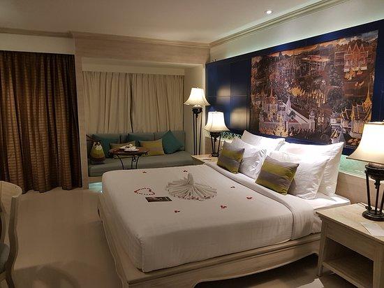 Novotel Phuket Resort : La chambre à notre arrivée...