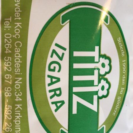 مطعم Titiz يعني نظيف بالتركي وهو اسم على مسمى  الام وبناتها الثلاث وطبخ ممتاز جداً يستاهل الزياره