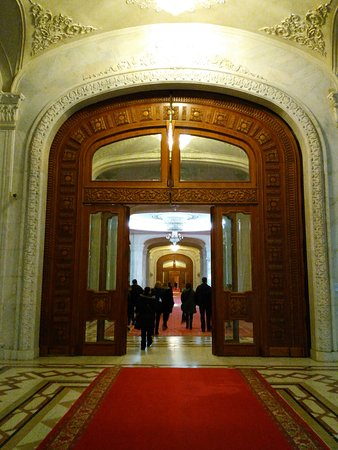 Bucharest, Romania: Palace of Parliament
