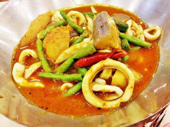 Jin Sha Wan: Assam Squid