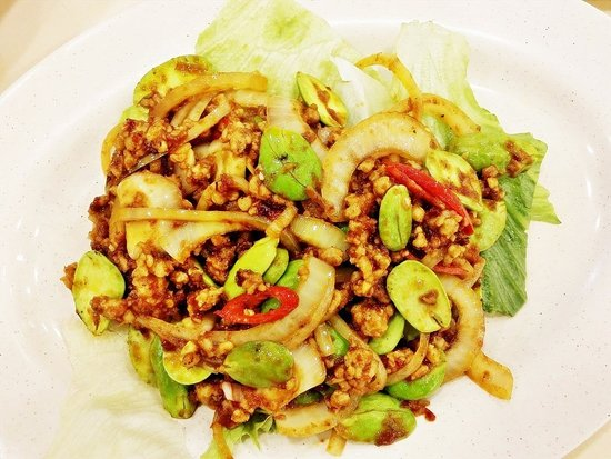Jin Sha Wan: Sambal Petai With Minced Pork