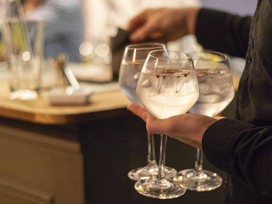 Bar à cocktail de l'hôtel