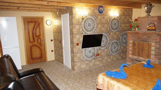 Volokonovka, Ρωσία: Жили в номере с камином