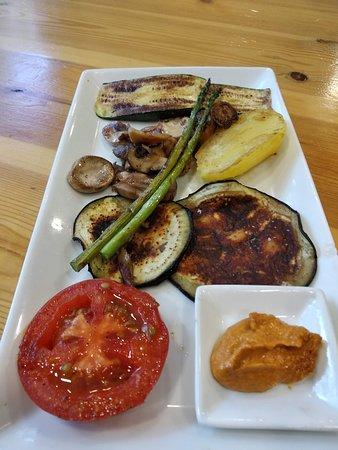 El Cau : graellada de verdures