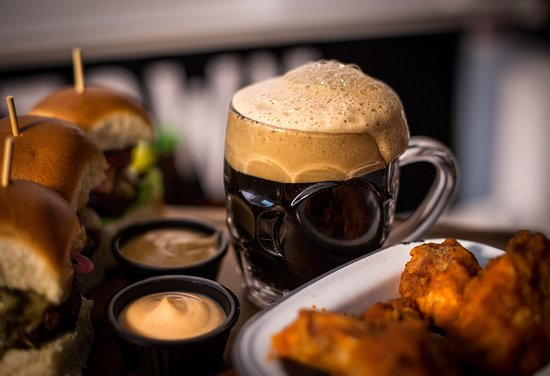 Enjoy one of our many craft beers with your meal in BóTOWN