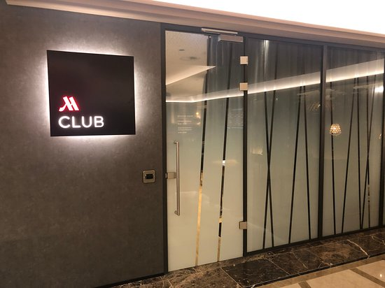 M lounge entrance