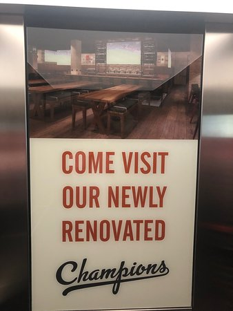 Information about Champions restaurant