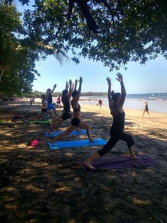 Tamarindo, Costa Rica: Wake up to yoga on the beach