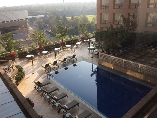 The Roof-Top Pool That Was Down A Few Floors