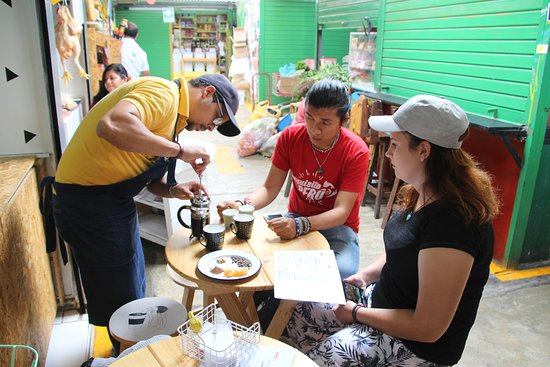 Lima Ultimate Peruvian Food Tour: Coffee tasting