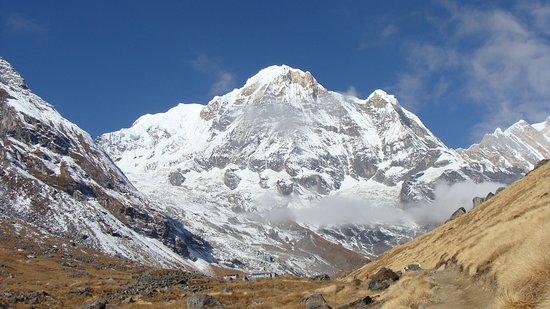 Annapurna Region, Nepal: Annapurna Range from Annapurna Base Camp
