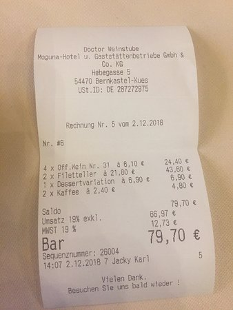 Valokuva: Doctor-Weinstuben Hotel
