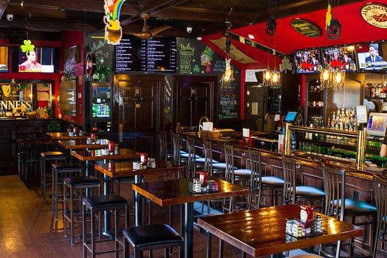 Village Idiot Irish Pub: An interior shot of our pub.