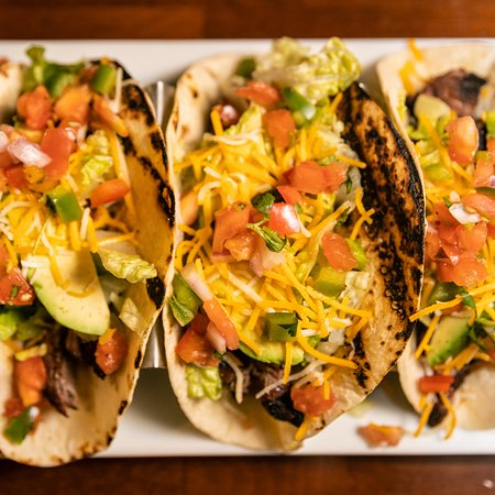 Village Idiot Irish Pub: A plate of our tasty tacos!