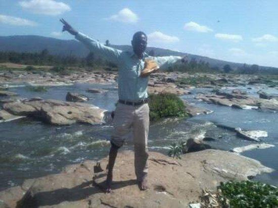 Seven Falls: @7 falls thika,kenya