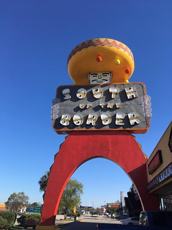 South of the Border: Pedro sign