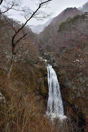 秋保大滝:不動尊側から