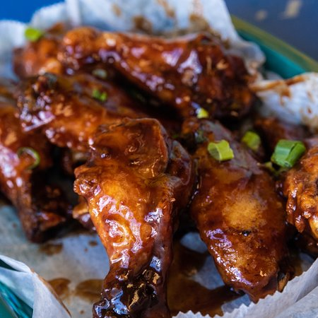 Medford, NY: A photo of some tasty wings that you can get right here at Cactus!
