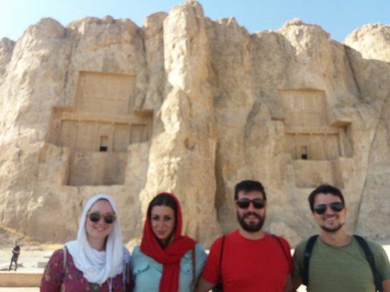 Marvdasht, Iran: Naqsh-e-Rostam