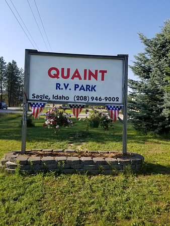 Sagle, ID: Quaint RV Park (208)946-9002