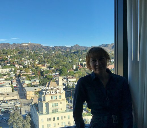 Kimpton Everly Hotel: Vue de Hollywood de la chambre