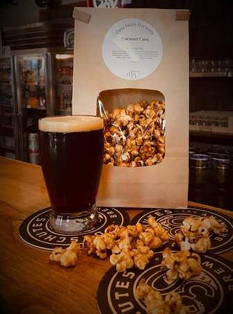 Deschutes Brewery: House-made snacks play well with beers.