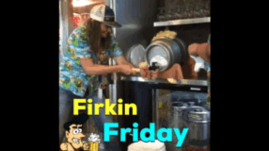 Deschutes Brewery: Will you be the lucky fan who taps this week's cask?