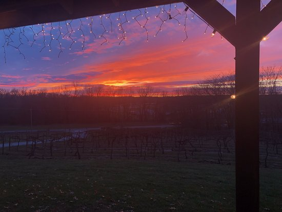 Greenup, IL: Sunset from the porch.