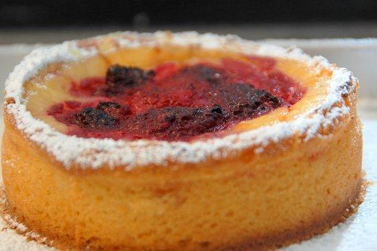 Chez Tim: Tartaleta de frambuesa con crema pastelera
