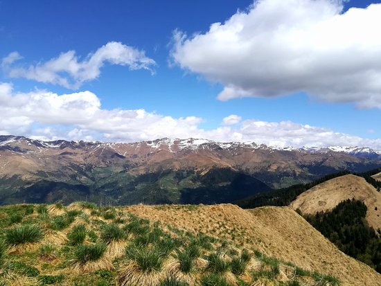 Pertica Alta, Italy: Splendida vista dal Monte Ario