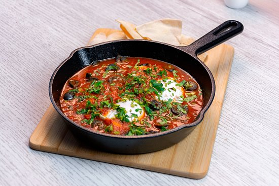 We have recipes from all around the world, like our scrumptious Shakshuka Eggs.