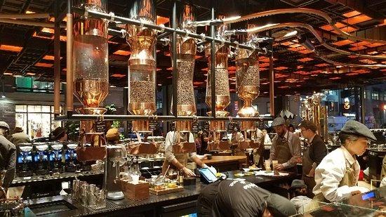 Starbucks Reserve New York City 61 9th Ave Restaurant