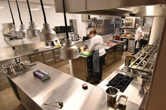 Restaurant MARREES: keuken