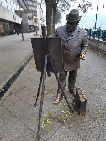 Ignác Roskovics Statue