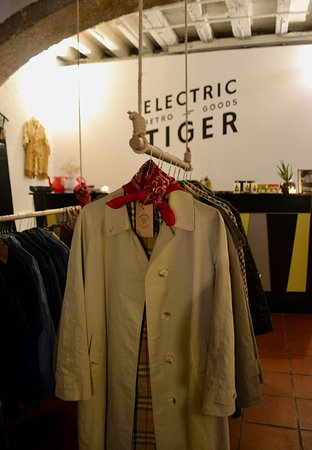 Electric Tiger vintage shop