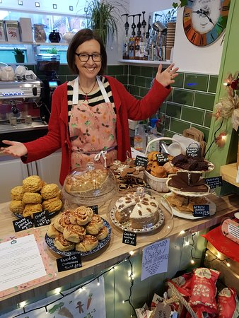 #saturdayspread - amazing homemade cakes with the owner, Kate