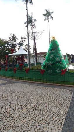 Praça bucólica e linda
