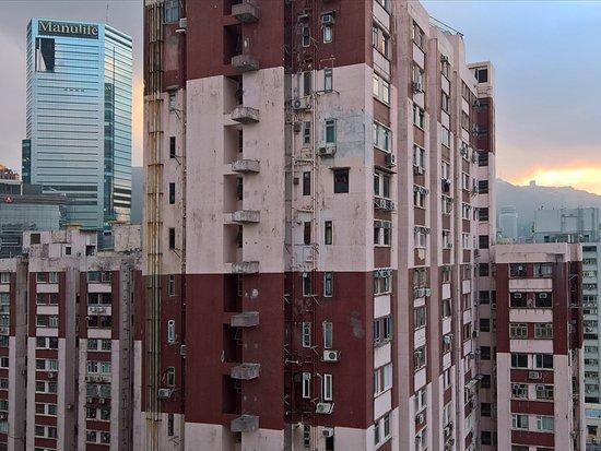 The Park Lane Hong Kong, a Pullman Hotel: Ausblcik von der Lounge